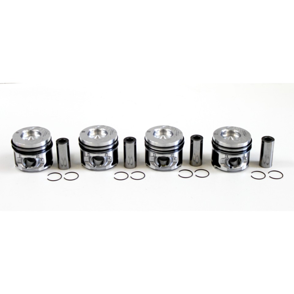 Dacia Duster, Logan, Sandero 1.5 DCi K9K Set of 4 0.50mm Oversize Pistons