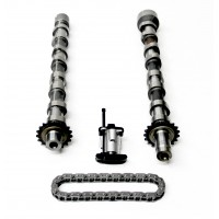 2 x Camshafts & Timing Chain Kit For Citroen C-Crosser, C5, C6 & C8 2.2 HDi