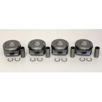 Citroen C4, C5, DS3, DS4 & DS5 1.6 EP6 Turbo Set of 4 Pistons with Rings