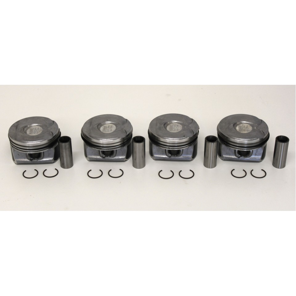 Lec Bmw Mini Cooper S Jcw Set Of 4 Pistons With Rings 11257576973 2008 Timing Belt