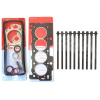 Head Gasket Set & Bolts for Peugeot 1.1 & 1.4 8v TU1JP & TU3JP