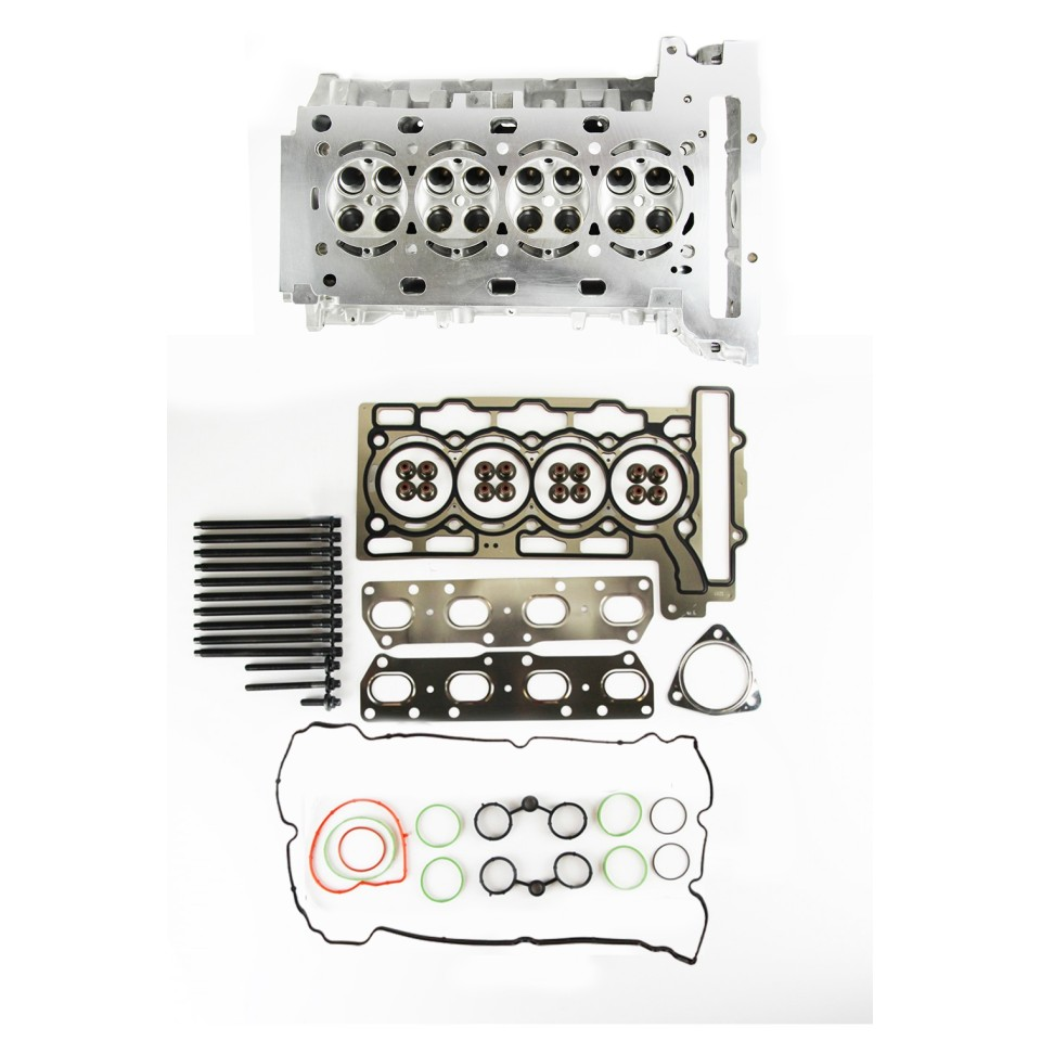 Cylinder Head with Gasket Set & Bolts for Citroen 1.6 16v THP / VTi EP6