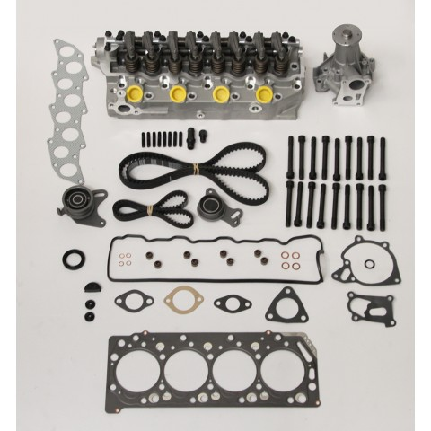 Mitsubishi Challenger, L200, Pajero, Shogun, 2.5 TD New cylinder head kit with Water Pump and Timing Belt
