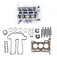 Cylinder Head with Valves, Head Gasket Set and Bolts for Ford 1.0 998cc 3 Cylinder Ecoboost