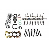 Citroen 1.6 HDi 8v DV6C Camshaft Kit & Head Gasket Set with Bolts