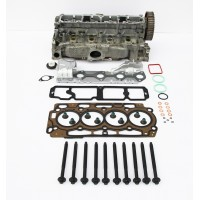 Reconditioned Cylinder Head with Gasket Set & Head Bolts for Peugeot 1.6 HDi 8v DV6