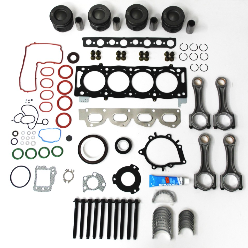 Engine Repair Kit with Conrods & 0.50mm Pistons for Land Rover Freelander 2 2.2 eD4 & TD4
