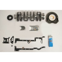 Crankshaft Kit with Main & Conrod bearings & Bottom End Gaskets to fit Ford Transit 2.4 TDCi