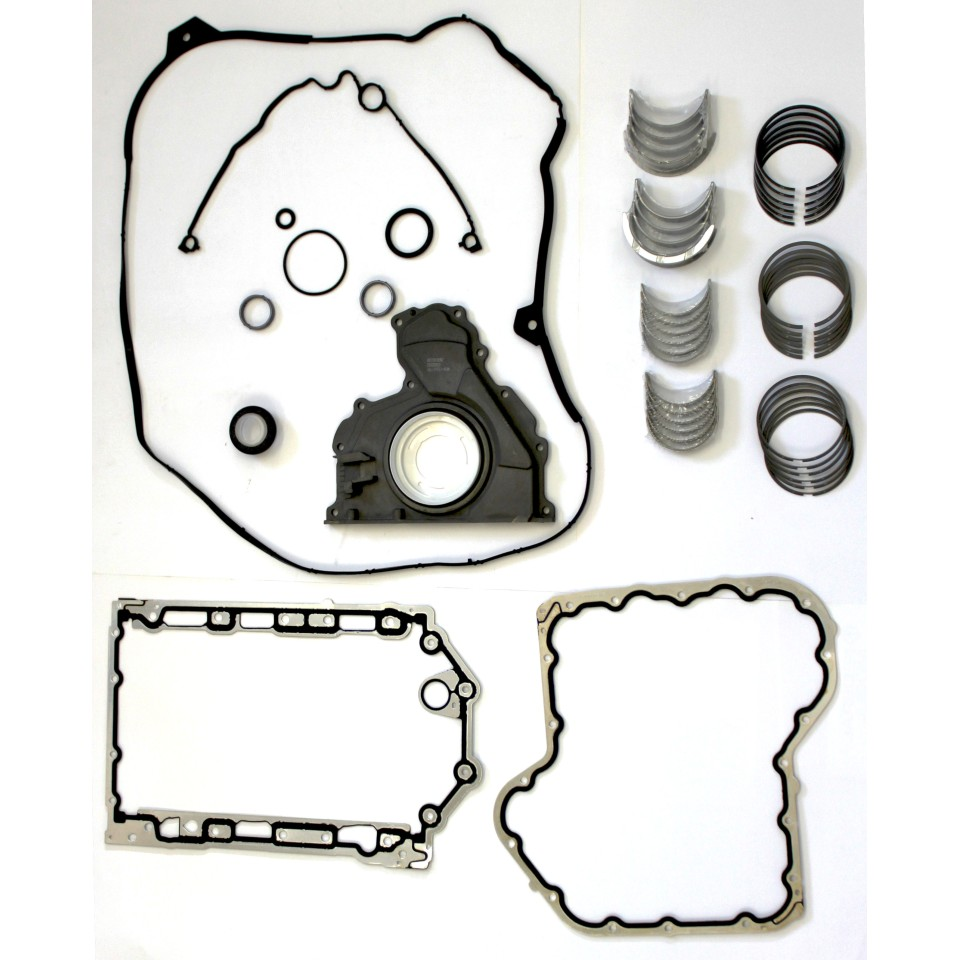 Citroen C5 & C6 2.7 HDi V6 Engine Repair Kit. Crankshaft bearings - Gaskets - Seals - Piston RIngs