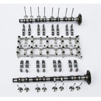 BMW 1.6 N47D16 Ladder Rack / Bridge, 2x Camshafts, Rocker Arms, Hydraulic Lifters & Valves