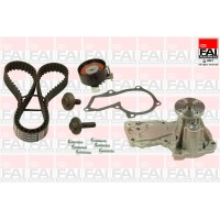 Timing Belt Kit & Water Pump for Ford Fiesta, Fusion, Focus, C-Max & Mondeo 1.25, 1.4 & 1.6 16v Zetec