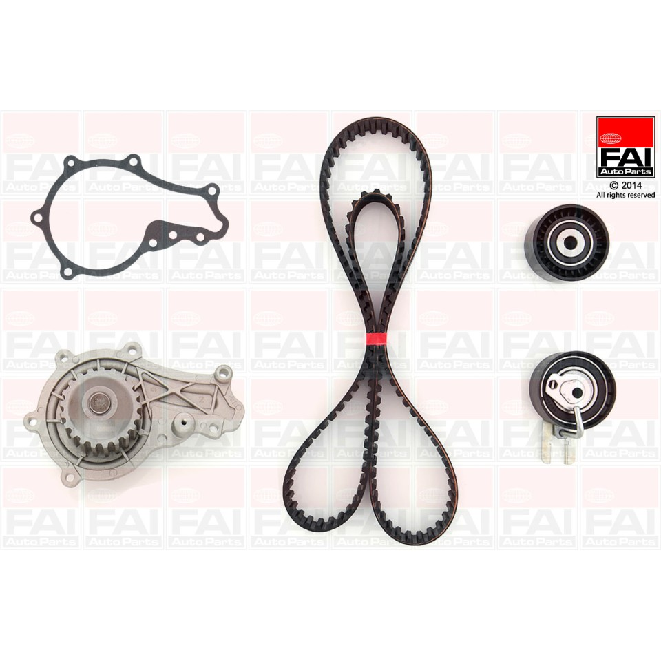 Timing Belt Kit & Water Pump for Toyota Aygo 1.4 HDi 2WZ-TV