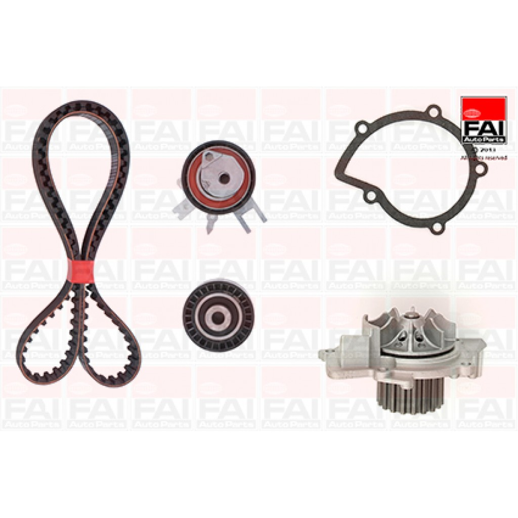 volvo C30 S40 S80 V70 2.0 2.0 TDI Timing//Cam Belt Kit /& Water Pump By Gates