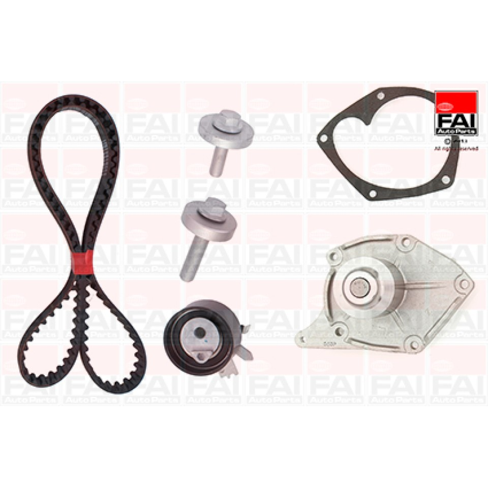 Dacia 1.5 DCi K9K Timing Belt Kit & Water Pump