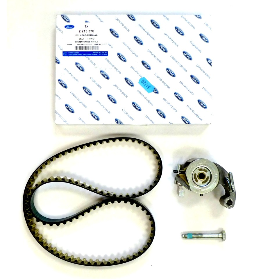 Genuine Timing Belt Kit for Ford Edge, Mondeo, Focus, Galaxy & S-Max 2.0 16v EcoBlue