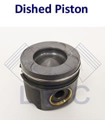Dished / Domed Piston